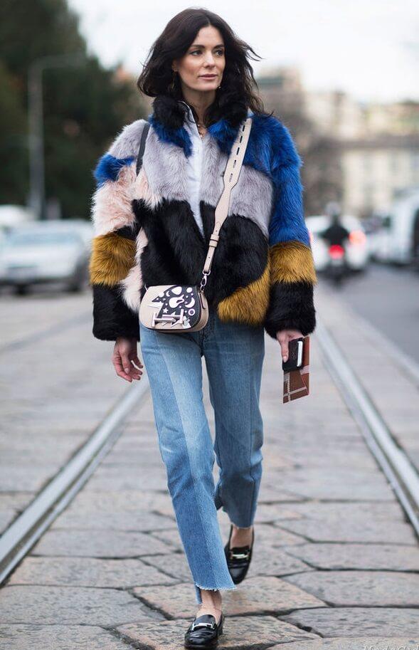 Яркий стиль на улицах Парижа