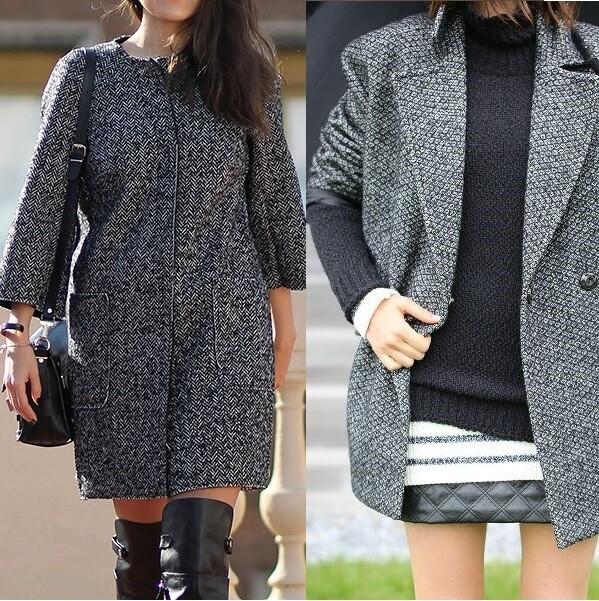 Пальто-кокон для женщин