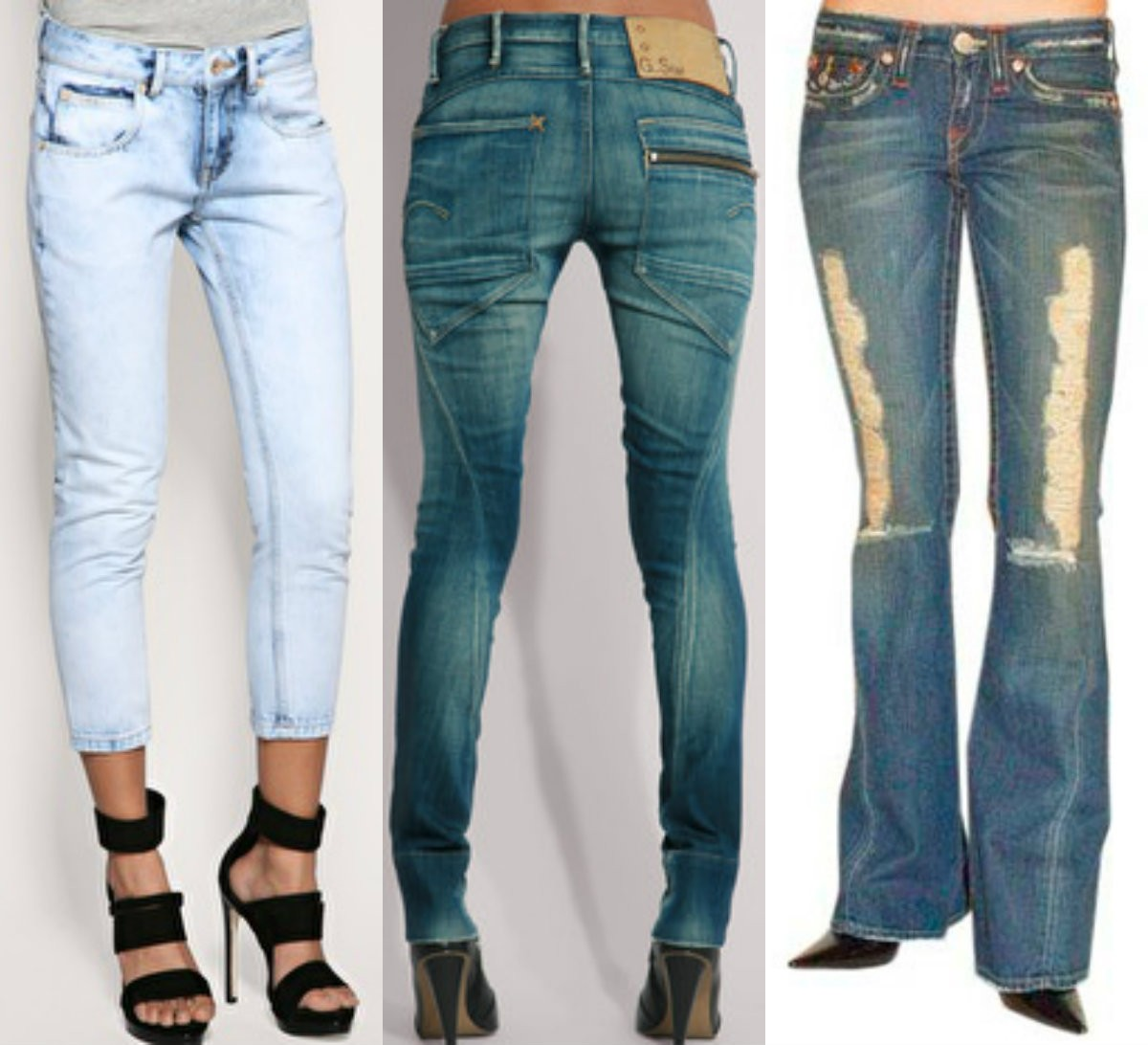 Twisted jeans - джинсы твистед для женщин