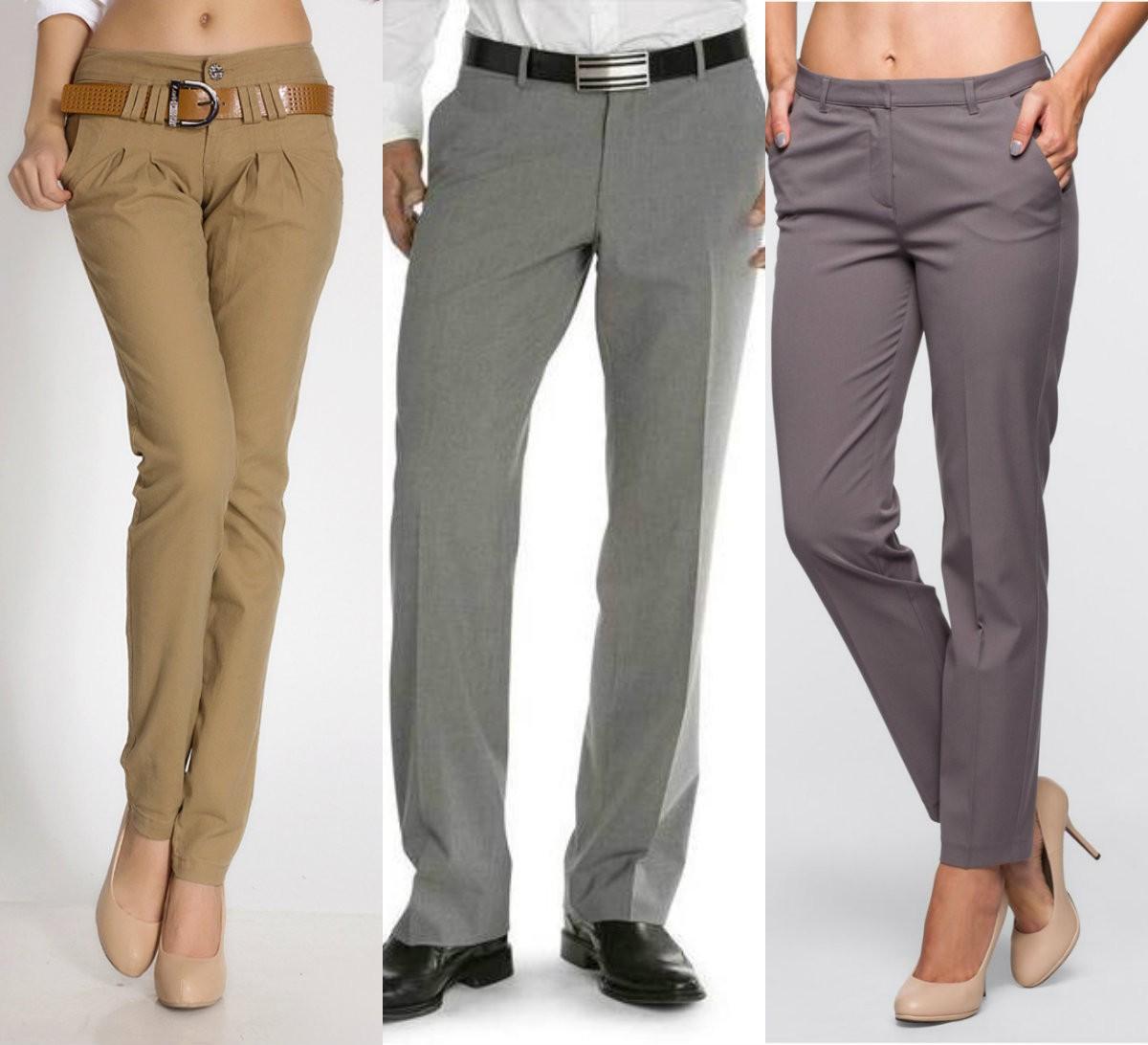 История появления мужских и женских брюк