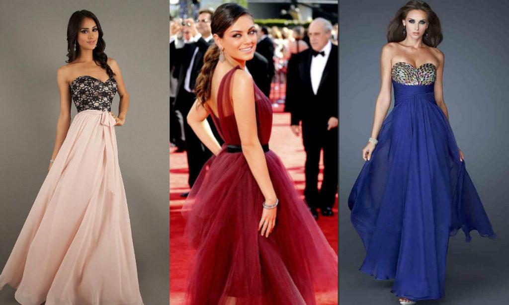 какого цвета выбрать платье на выпускной 2016 фото