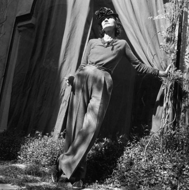 Первые женские брюки Коко Шанель