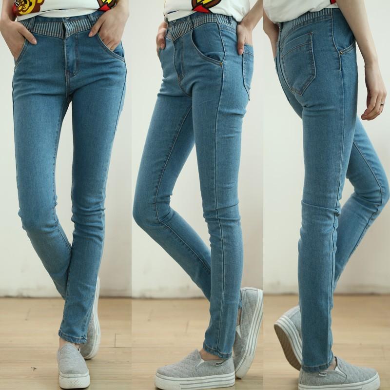Scinny fit- женские джинсы скини