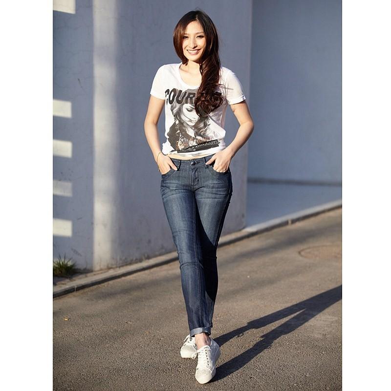 Slim fit - джинсы слим для женщин