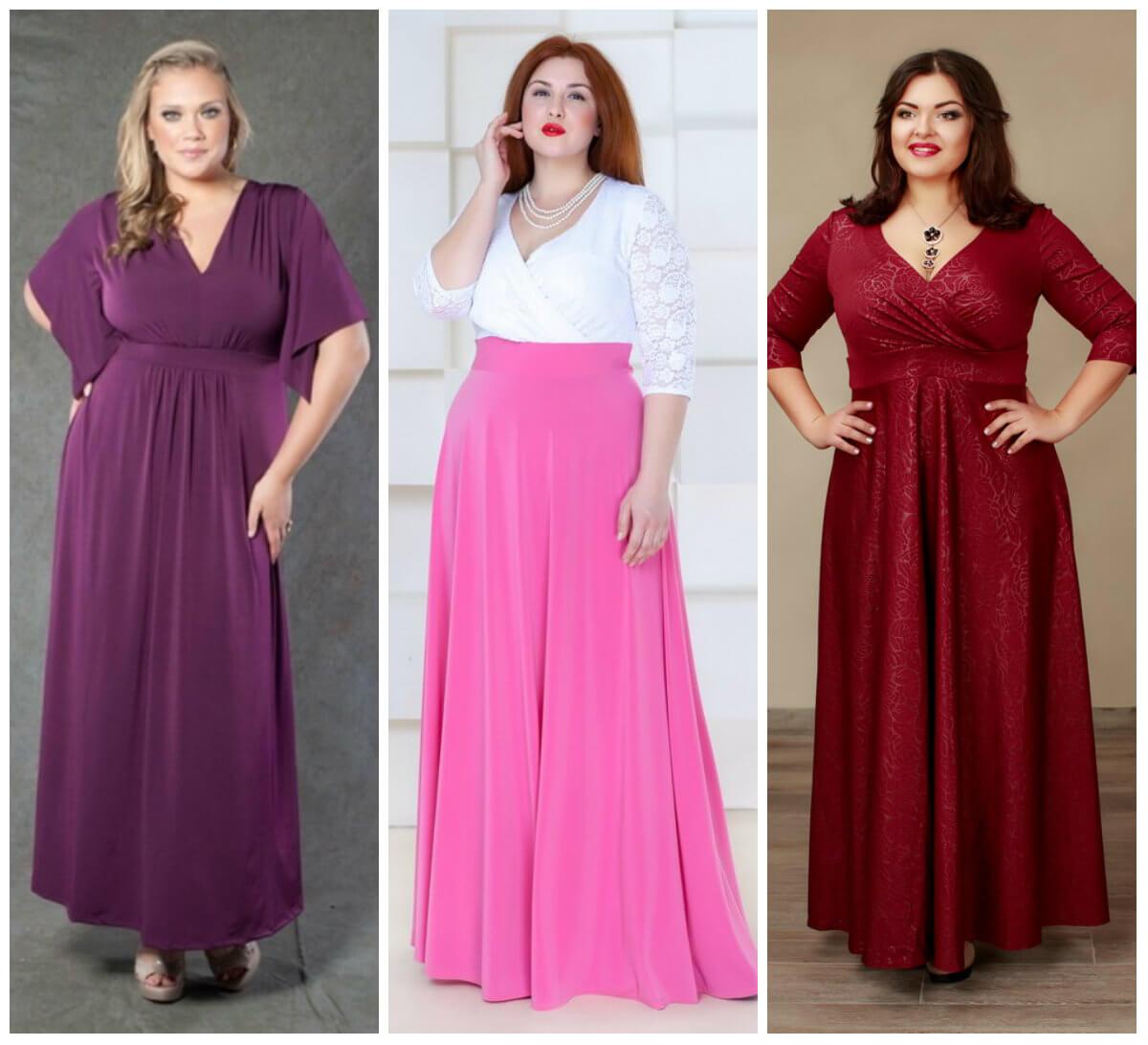Платье Ампир для полных девушек, фото