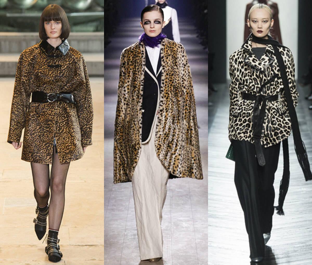 Леопардовый принт, мода 2016-2017