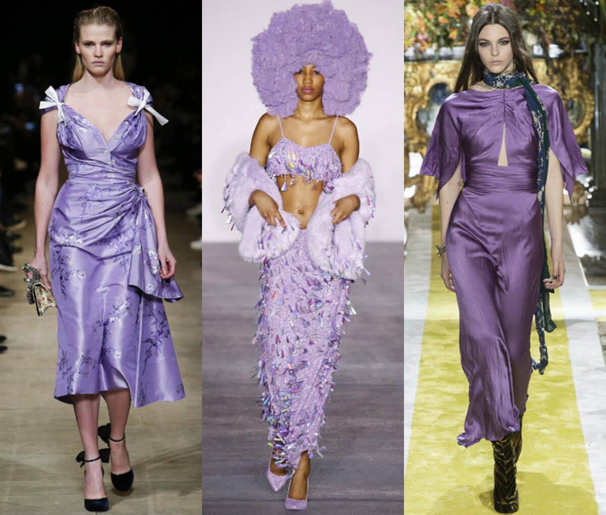Модный цвет 2016-2017 лиловый