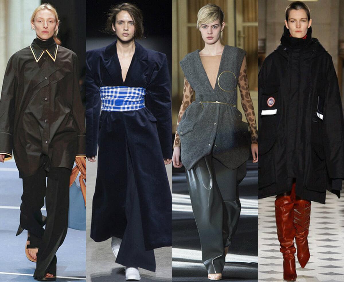 модный стиль осень 2016 оверсайз