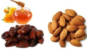 Салат для похудения финики с орехами