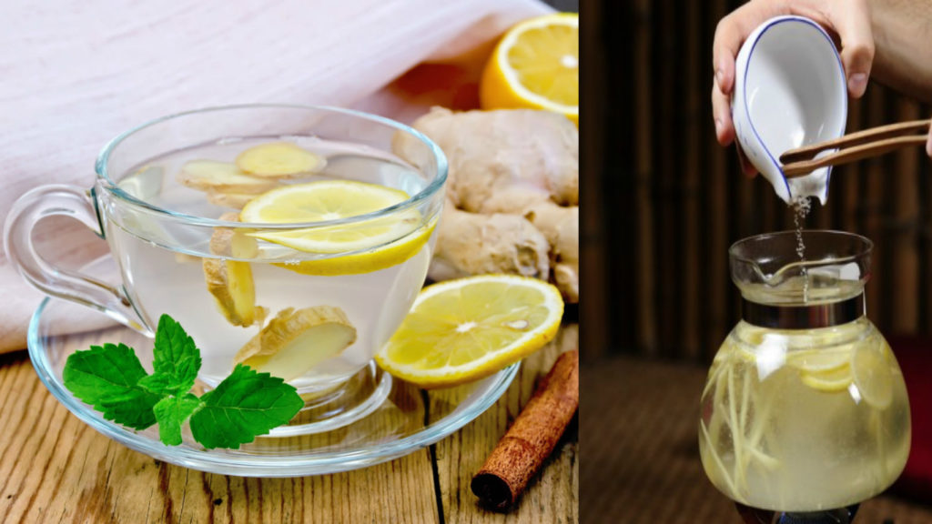 Имбирный Чай Похудел. Зеленый и имбирный чай для похудения: польза, противопоказания, рецепты