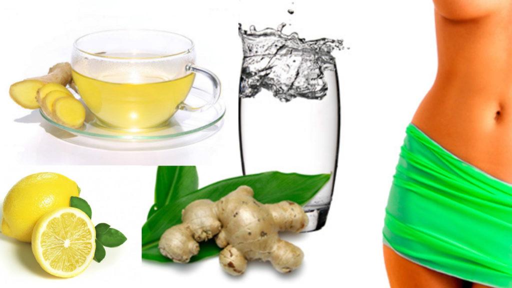 Сбросить вес с лимонной водой