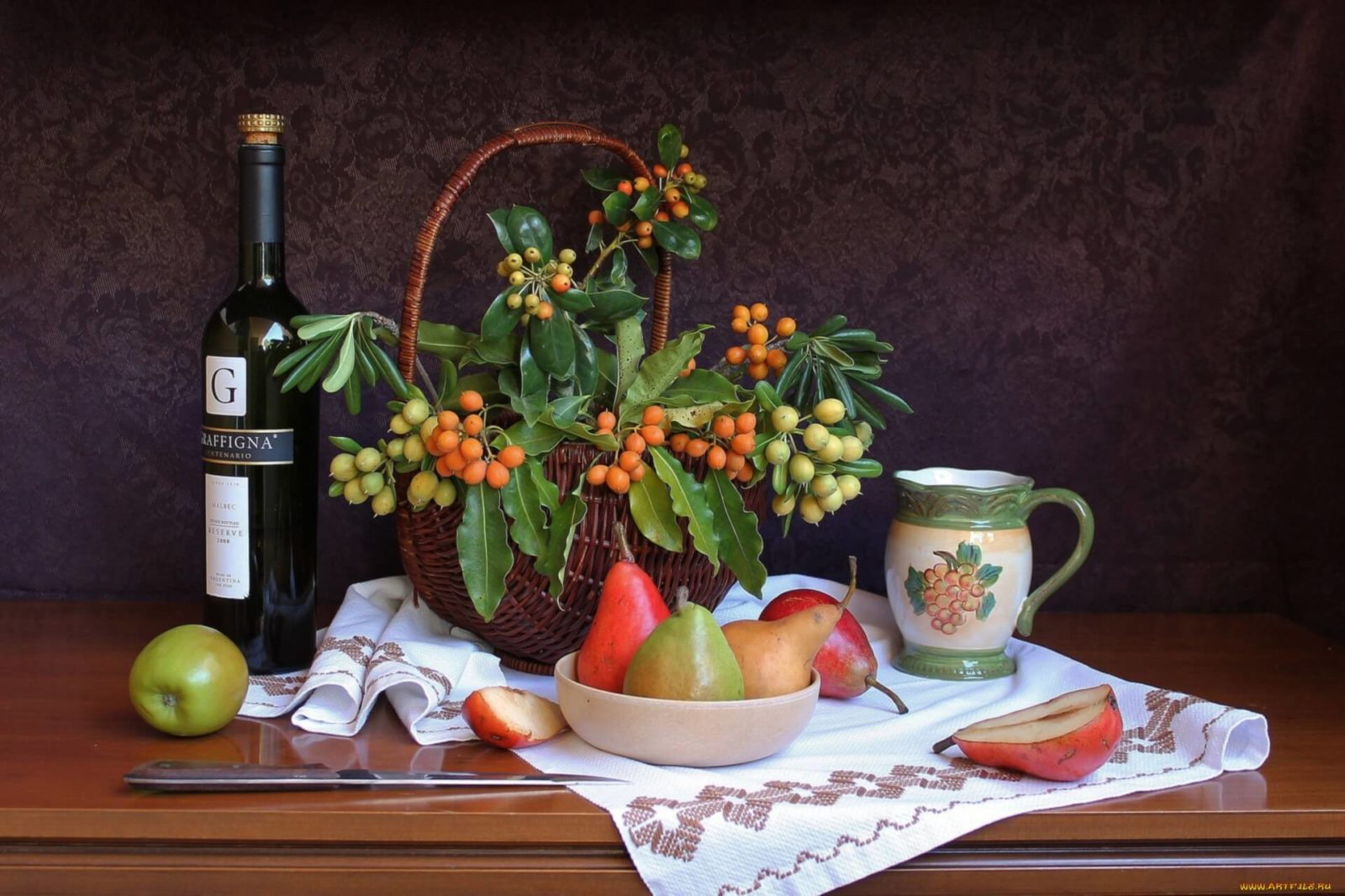 Калорийность красного сухого вина или как принимать его для.