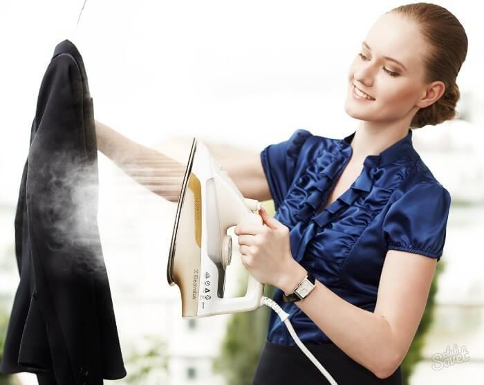 гладить кожзам отпаривателем, как гладить платье из экокожи отпаривателем