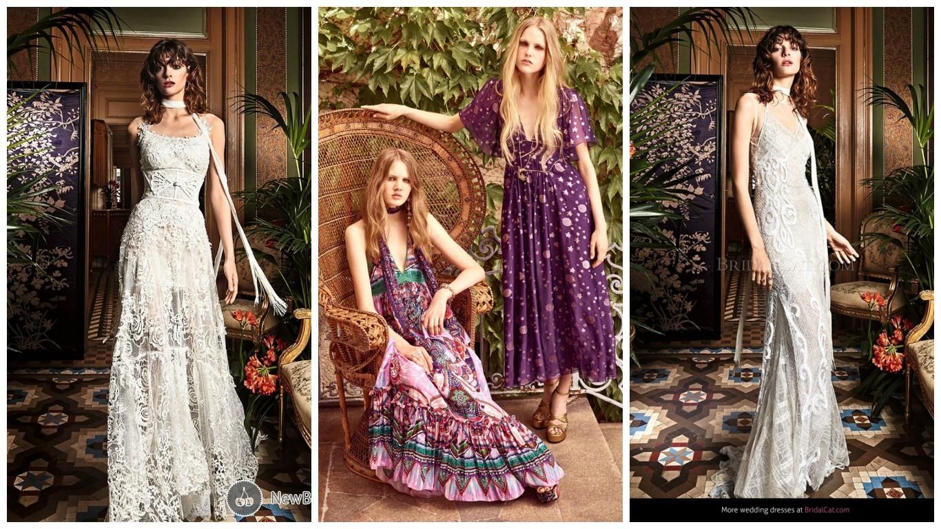 модная одежда в богемном стиле 2017
