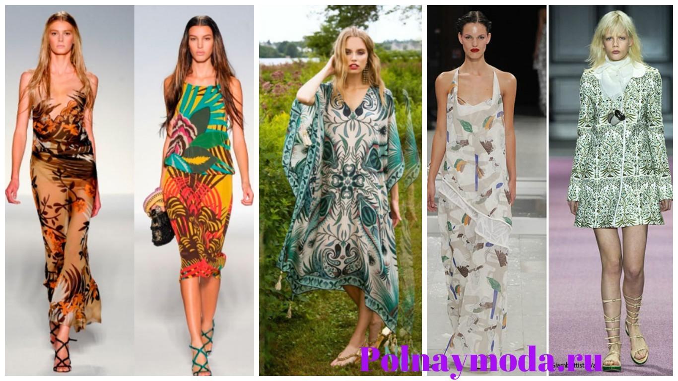 гавайский модный принт, экзотический принт, платья, сарафаны, одежда для женщин с гавайским тропическим принтом
