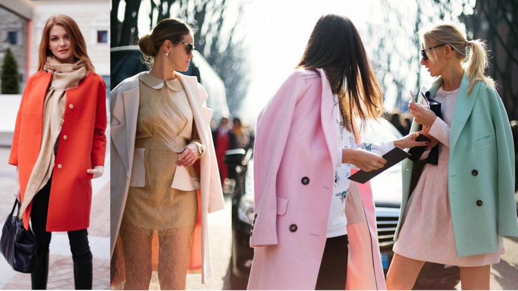 что модно носить весной 2017, 2018, уличная мода, модная верхняя одежда, модные луки весны
