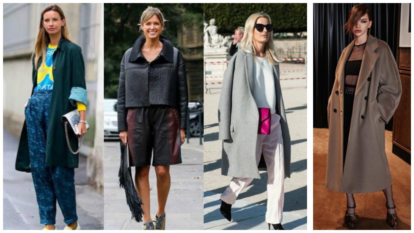 стиль оверсайз , модная одежда в стиле оверсайз, стиль оверсайз в 2017