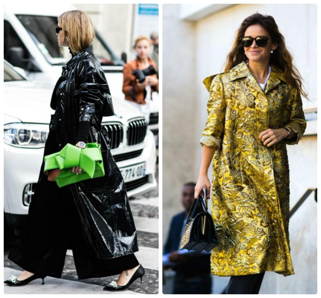 модные плащи, весна лето 2017, 2018, модные луки, уличная мода парижа