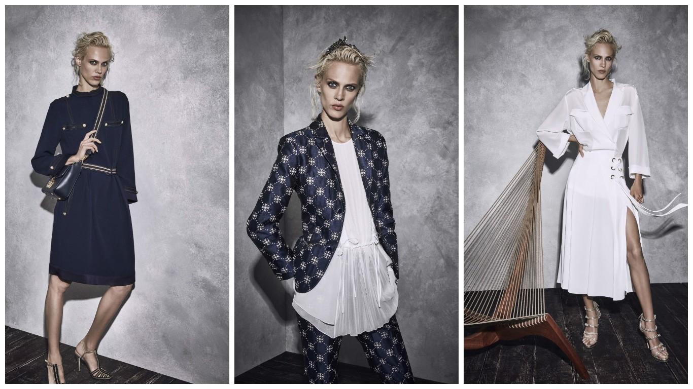 лукбук дизайнерской моды, коллекция Альберто Ферретти, женские луки весна лето 2017, 2018