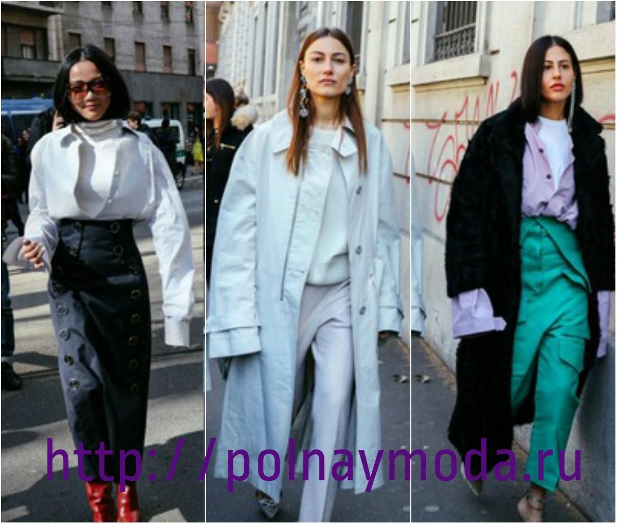 Мода Италии 2018, объемные рукава с рубашечным манжетом, итальянская мода осень зима 2017 2018