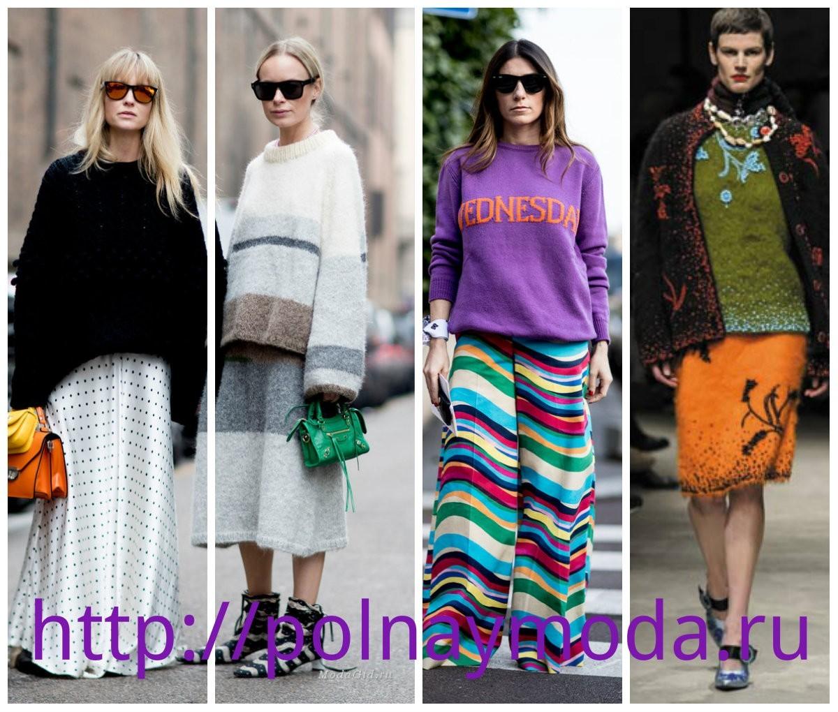 мода Италии, осень зима  2018, модные объемные свитера, Итальянская мода для женщин