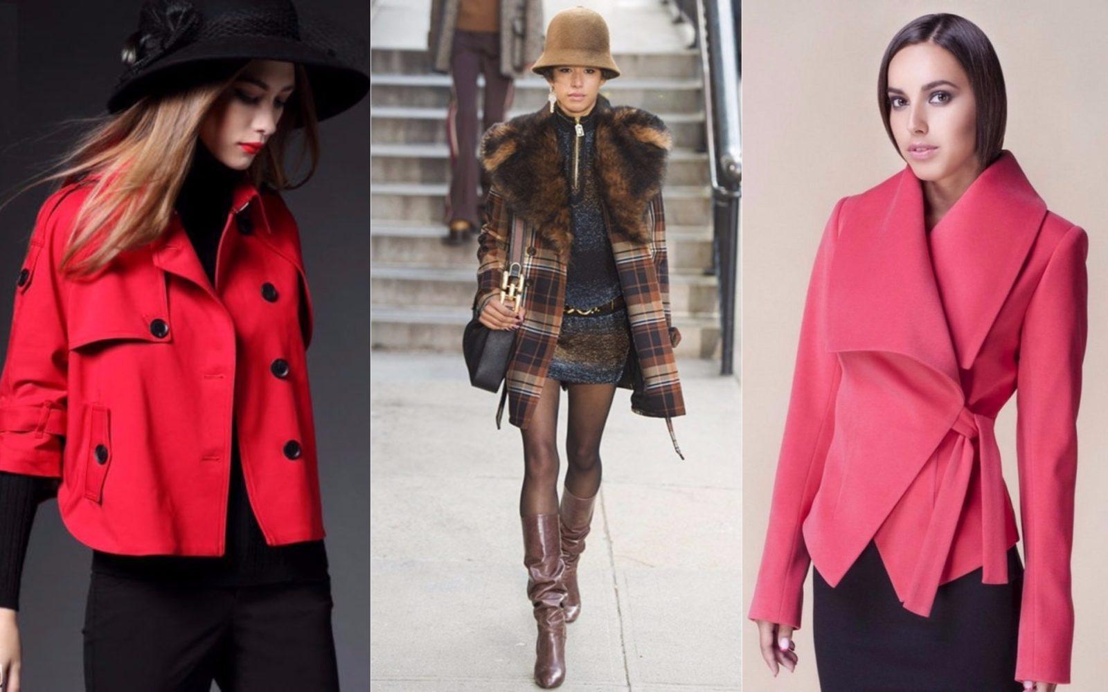 пальто мини, пиджак, короткое красное, осеннее, зимнее, оригинального кроя