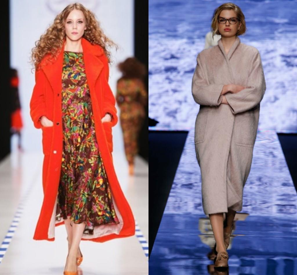 мода зима 2018 2019, женское зимнее пальто