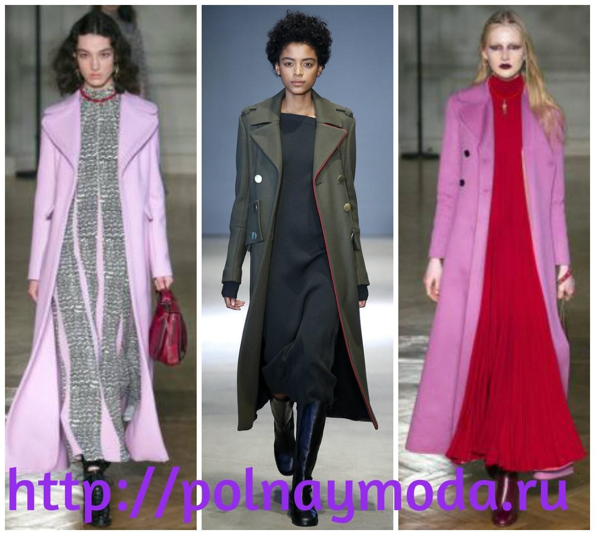 Пальто для женщин в стиле милитари, А-силуэта, мода осень зима 2017 2018