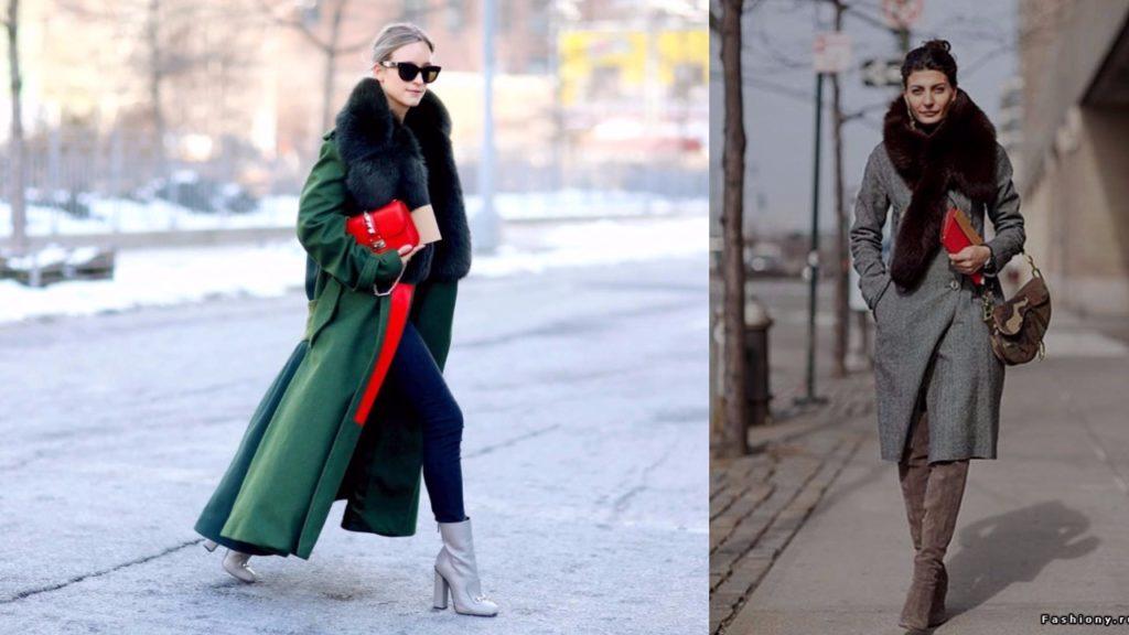 7fcfeae2b77 Зимнее пальто мода 2019  фото