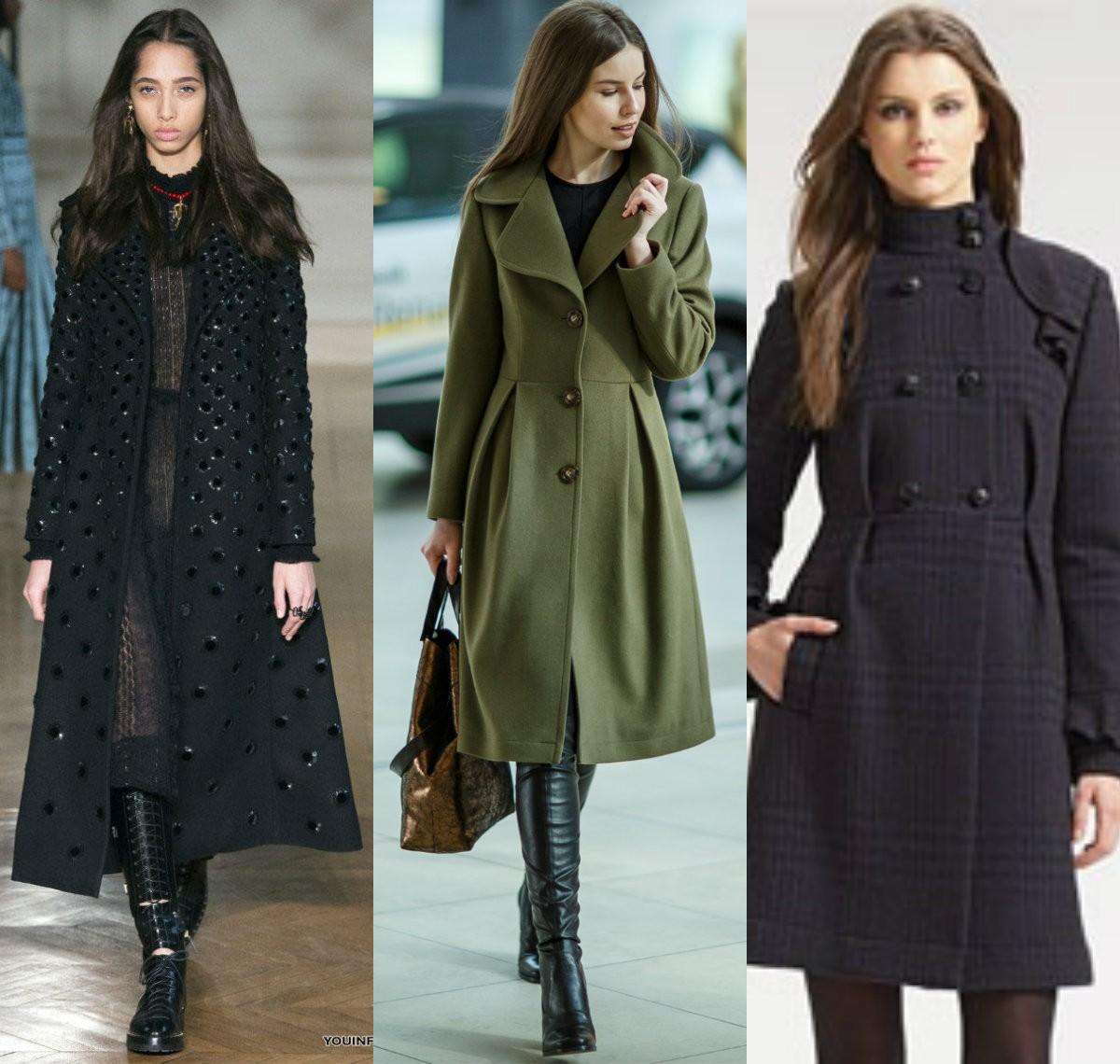 пальто для девушек с узкими бедрами и широкими плечами