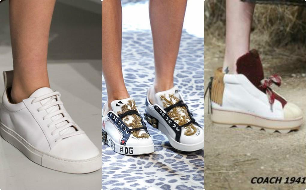 обувь женская, спортивная, кеды, кроссовки, скини мода 2018 2019