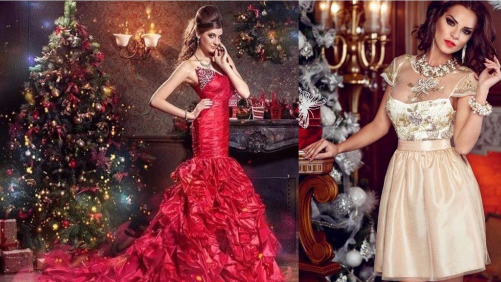 В каком цвете встречать новый 2018 год, платья для женщин на вечеринку, рубашки для мужчин