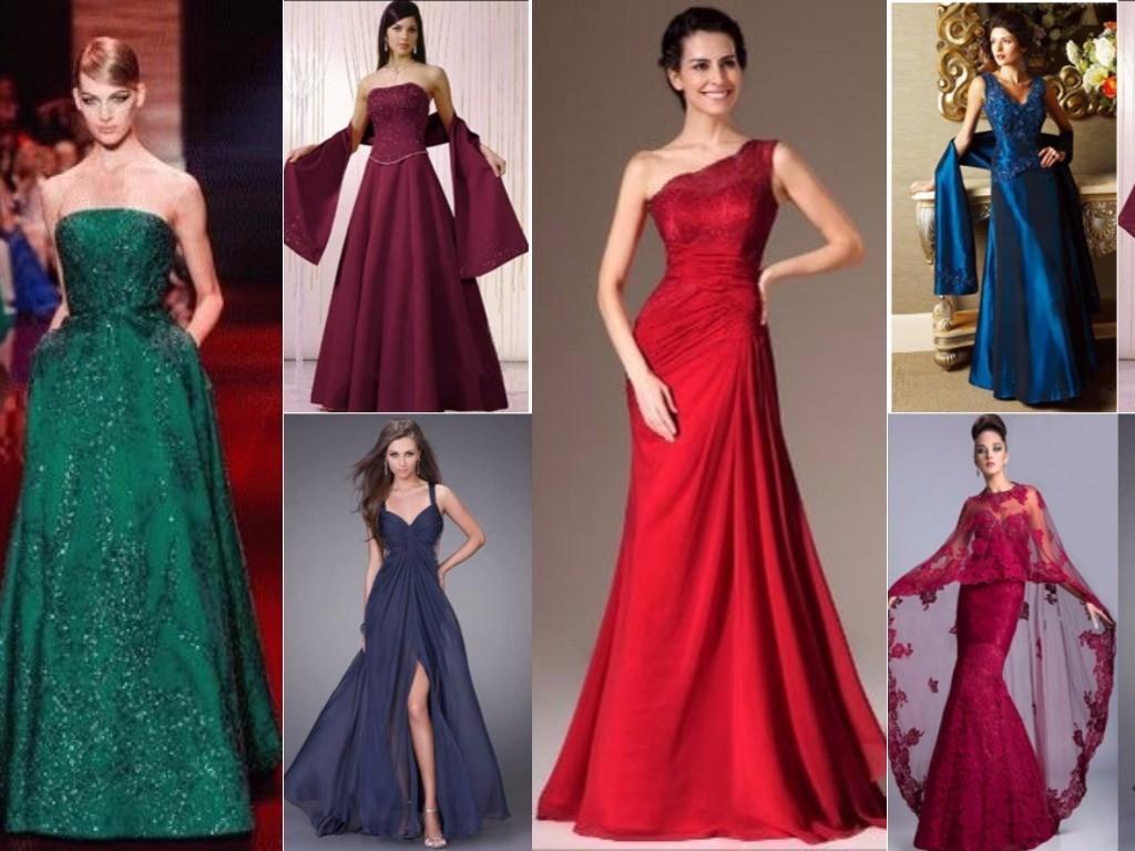 платья для женщины Овен на новый 2018