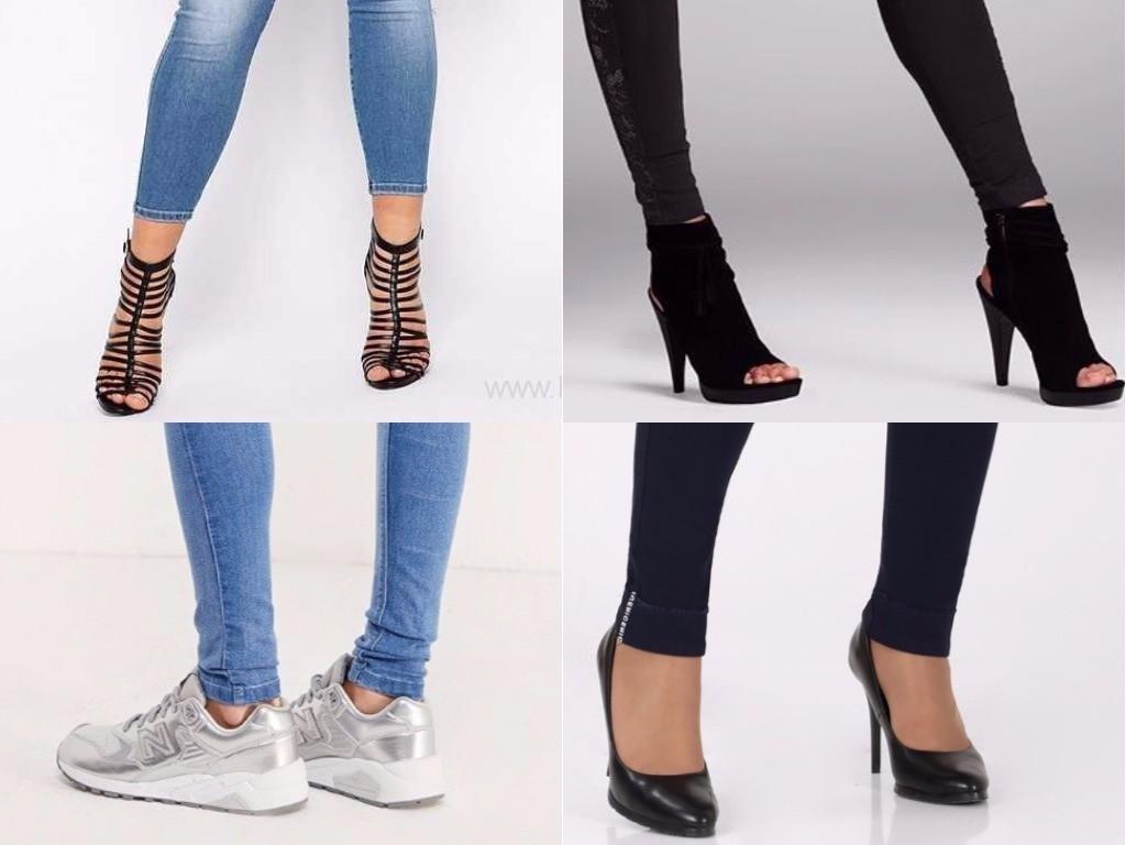 с какой обувью носить джегинсы