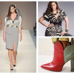 модная одежда для полных 2018