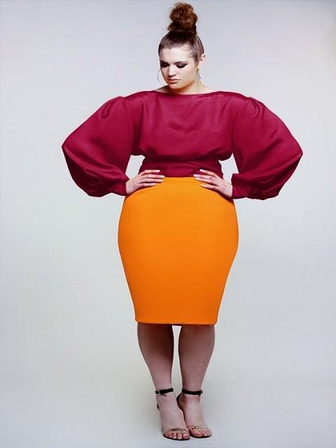 монохромная мода 2018