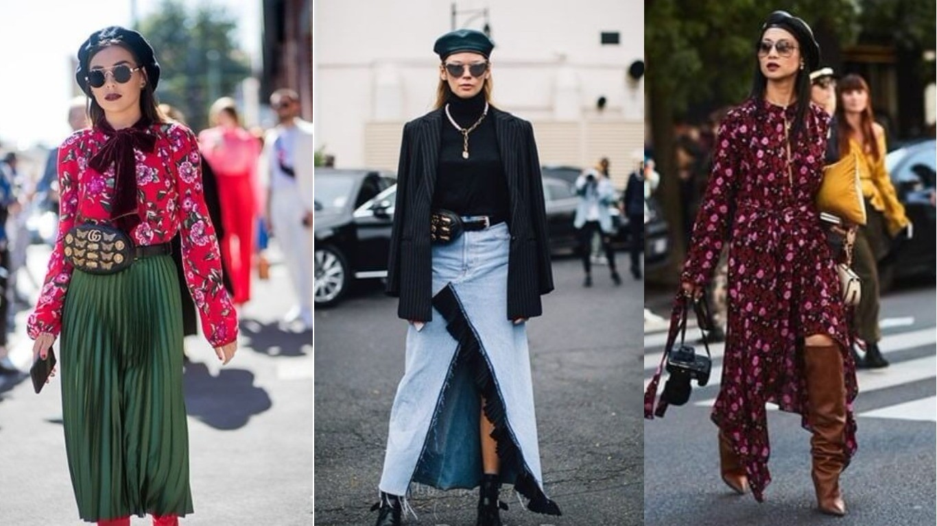 Уличный стиль весна лето 2018 французский берет
