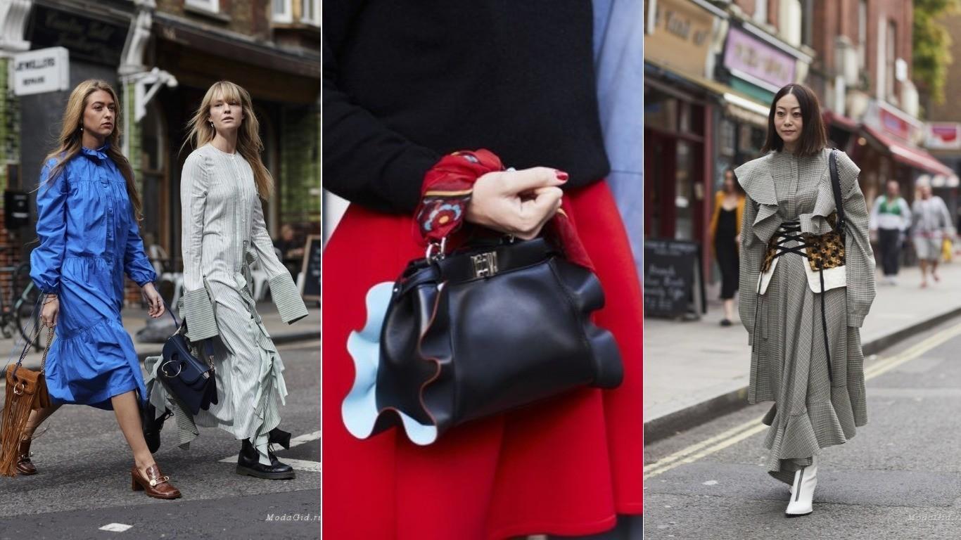 Уличный стиль воланы весна лето 208 на платье блузах сумках юбках