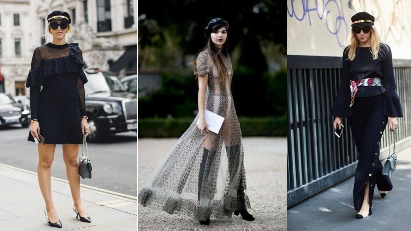 Уличный стиль ренд весна лето 2018 кепи женская модная