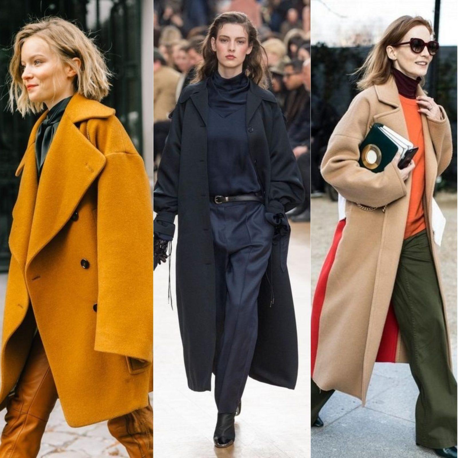 Уличная мода 2018 верхняя одежда пальто