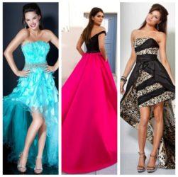 Модные платья на выпускной 2018