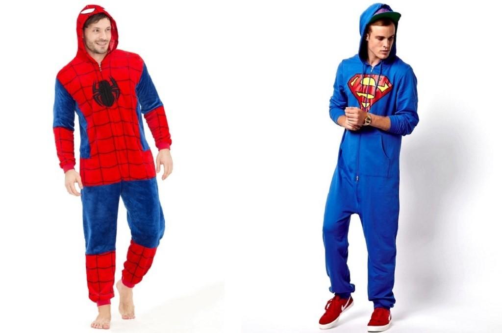 пижамы супергероя