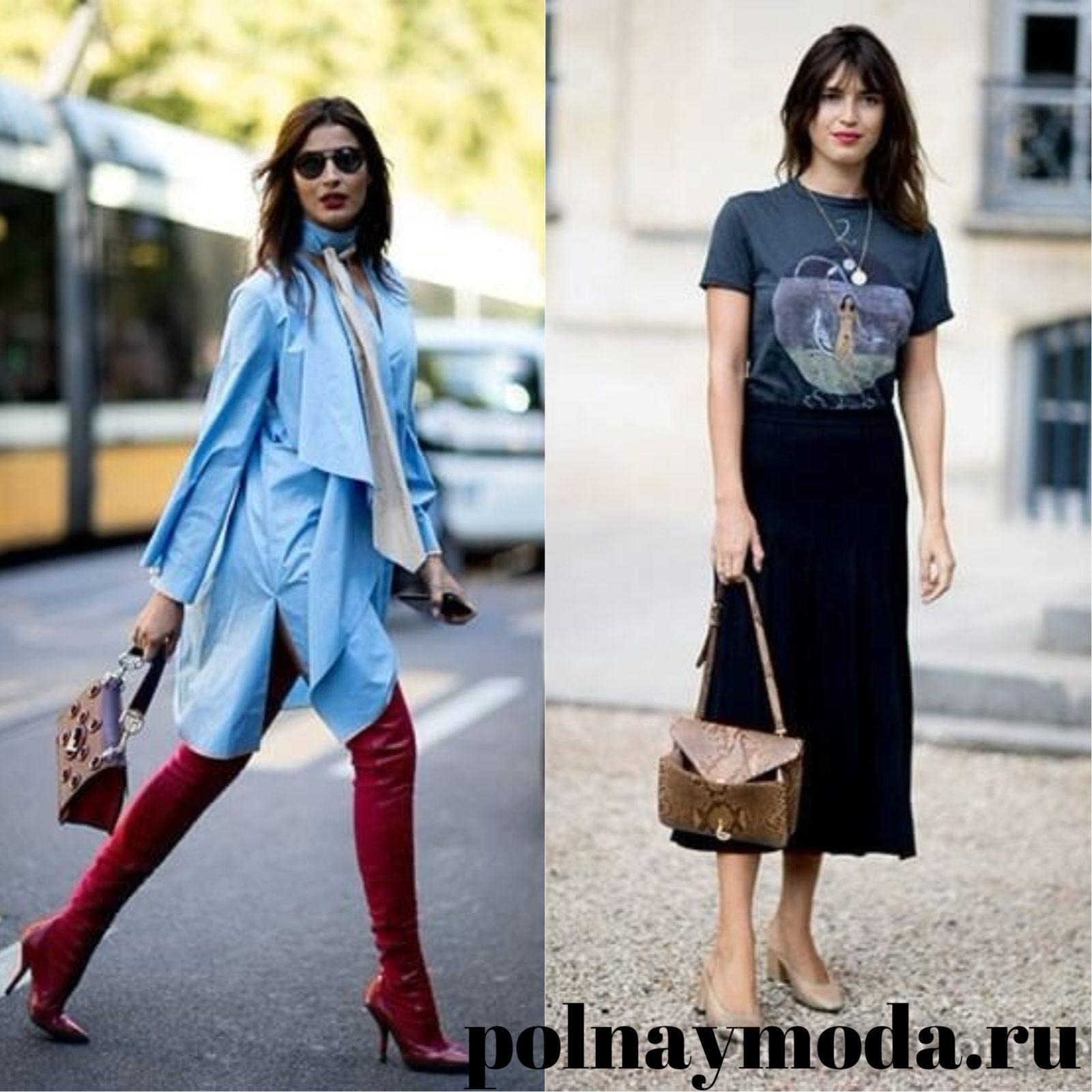 Уличная мод 2018 одежда с винтажными элементами мода весна лето