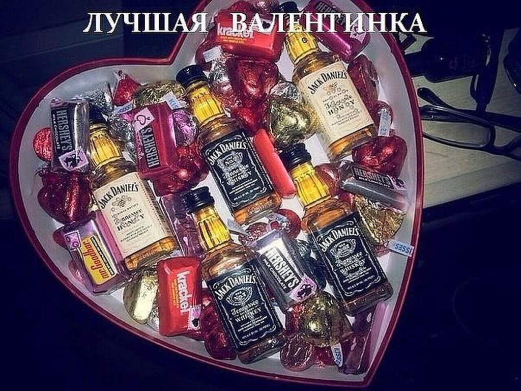 сладкие подарки на 14 февраля