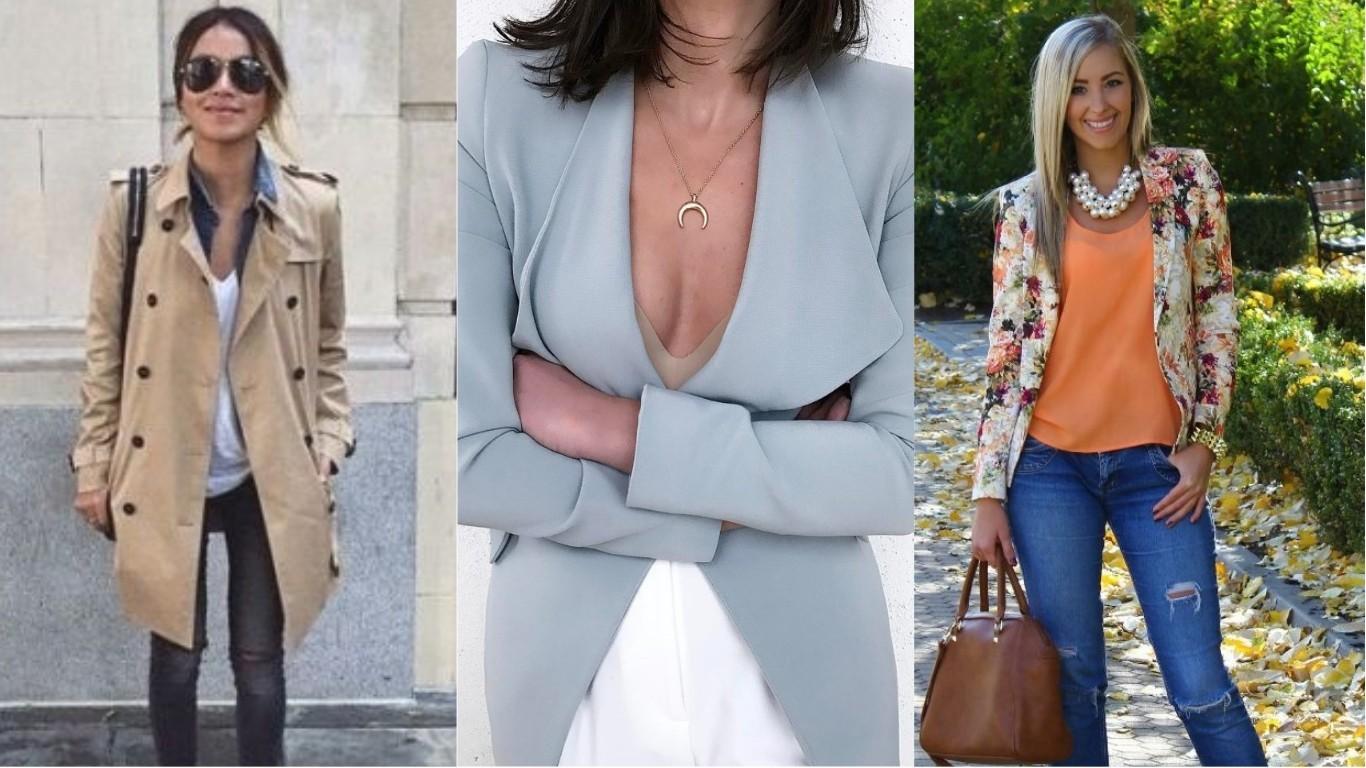 что носить летом женщинам пиджак блейзер тренч мода 2018 2019