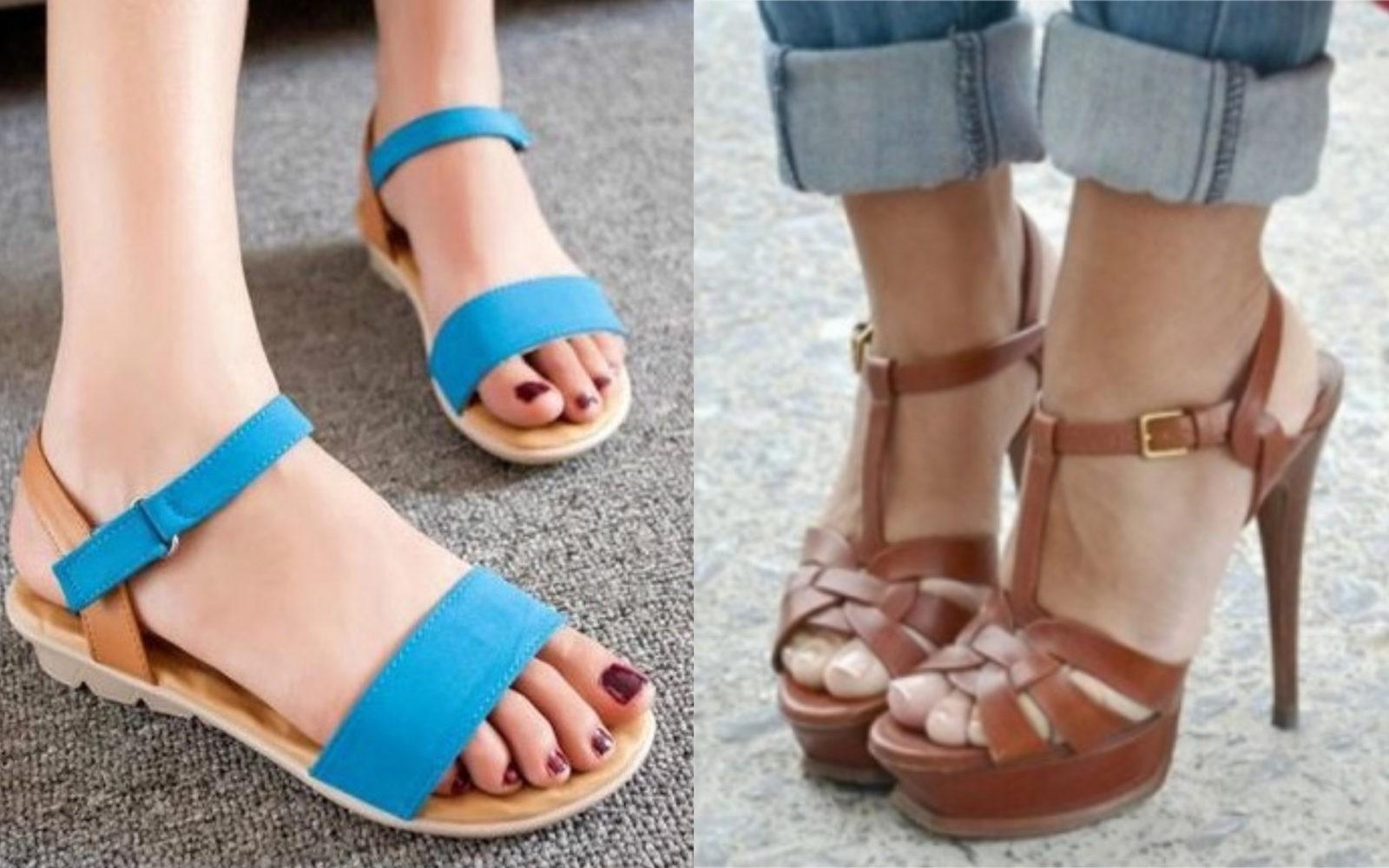 босоножки сандалии с открытым носком лето 2018 2019 на плоской подошве на каблуке с рмешками