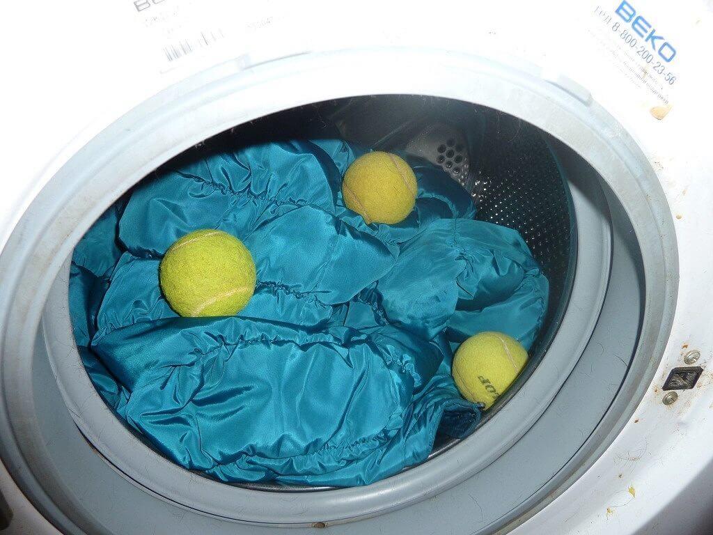 как стирать куртку с биопухом в стиральной машине автомат