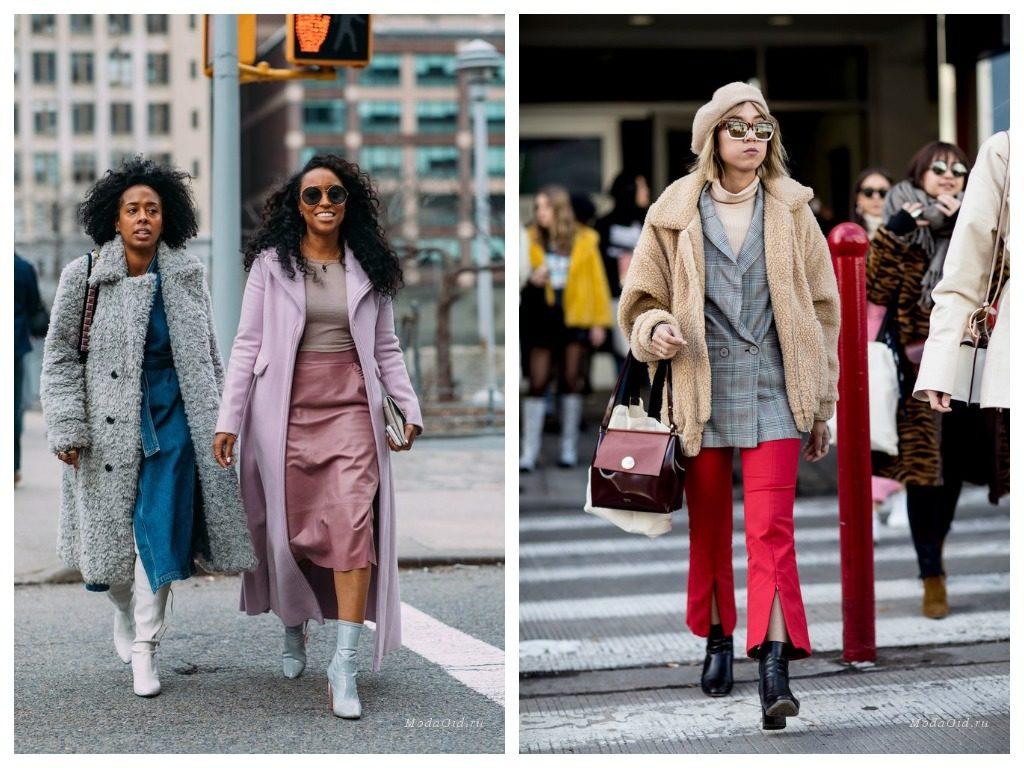 мода уличная нью йорка