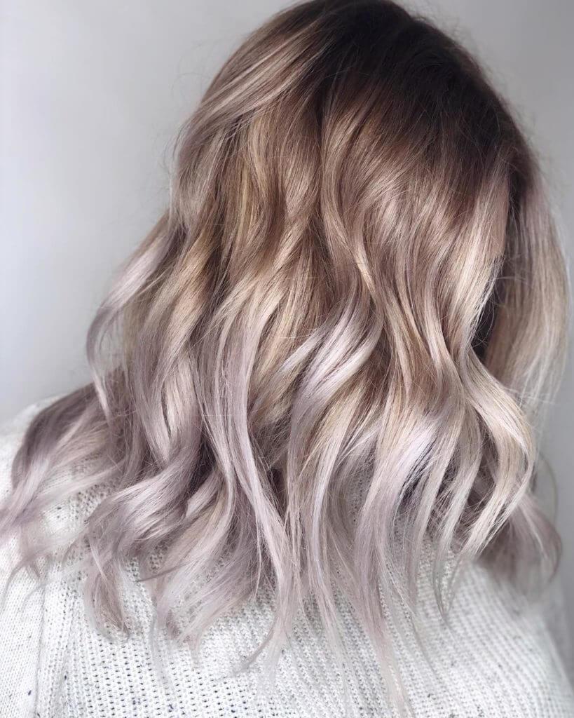 мода цвет волос