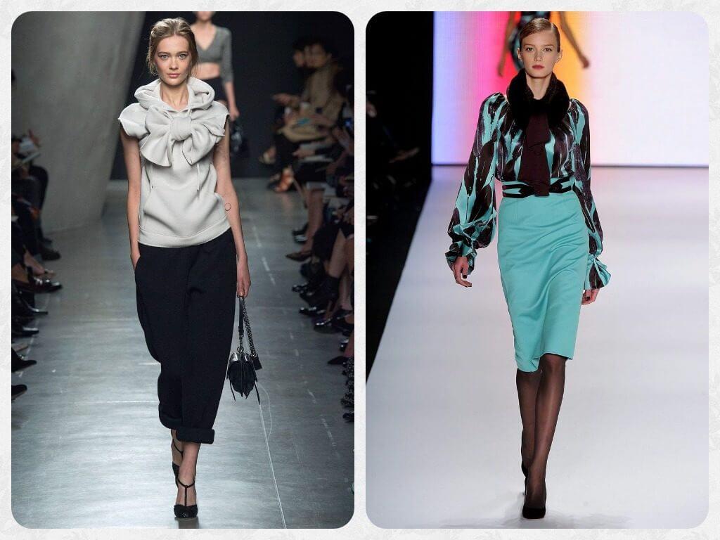4fca2791c18 модные блузки с пышным рукавом модные блузки из трикотажа